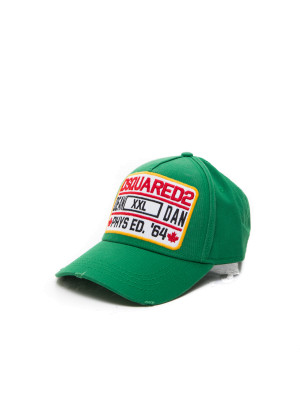 Dsquared2 baseball cap green 468-00119