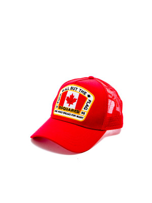 Dsquared2 baseball cap red 468-00160