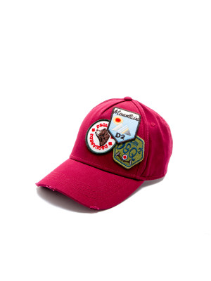 Dsquared2 baseball cap crimson 468-00162