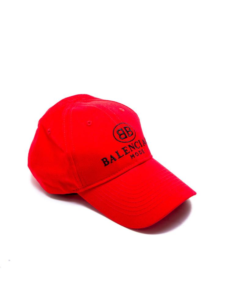 Casquette De Baseball Embro - Rouge Balenciaga 4xp3Vehc