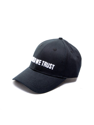 IN GOLD WE TRUST  cap black 468-00321