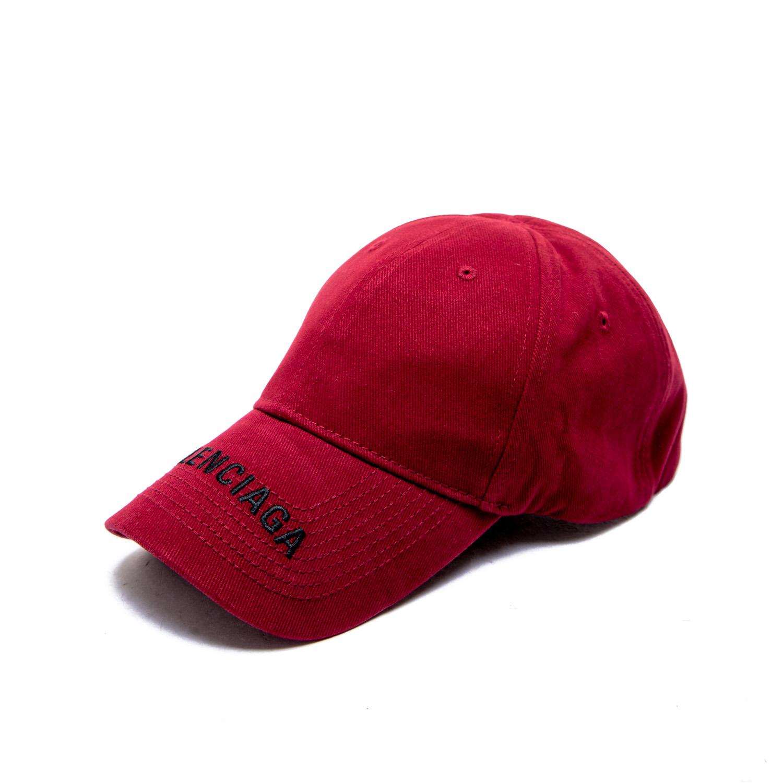 e7fce6fa3bd Balenciaga Hat Logo Visor Cap