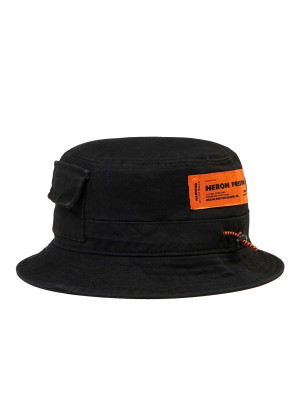 heron preston  twill bucket hat 469-00570