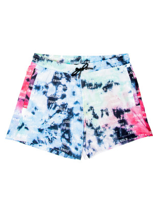 IN GOLD WE TRUST tie dye swimshorts 470-00509