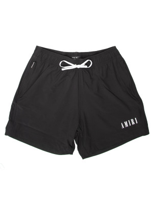 Amiri logo swim trunk 470-00542