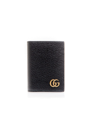 Gucci credit cards holder black 472-00001