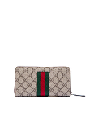 Gucci wallet supreme/selleria black 472-00026