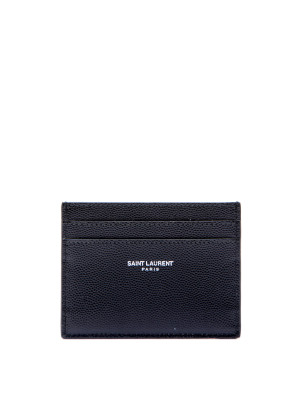 Saint Laurent Paris ysl credit card case black 472-00027