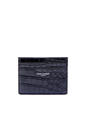 Saint Laurent Paris ysl credit card case green 472-00029